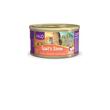 Halo Spot\'s Stew For Cats Chicken, Shrimp & Crab Recipe