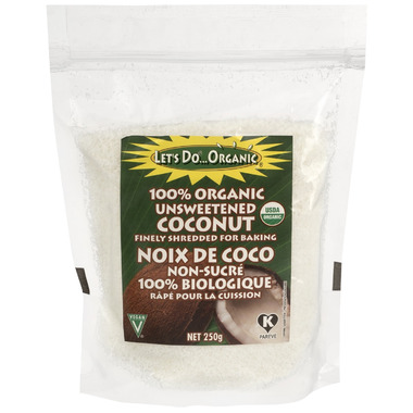 Let\'s Do...Organic Unsweetened Coconut