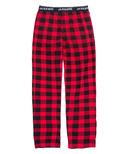 Hatley Little Blue House Buffalo Plaid Men's Jersey Pajama Pant