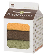 Now Designs Milk Carton Dishcloth Set Harvest