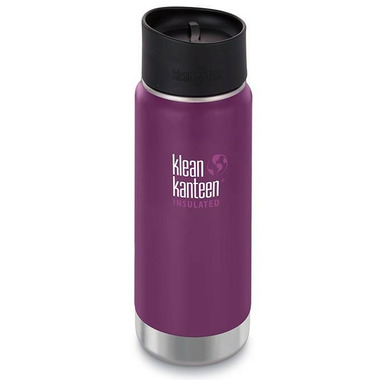 Klean Kanteen Insulated Wide Bottle with Cafe Cap 2.0 Winter Plum