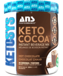 ANS Performance Keto Cocoa Instant Mix Hot Chocolate