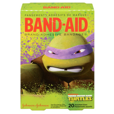 Band-Aid Teenage Mutant Ninja Turtles Bandages