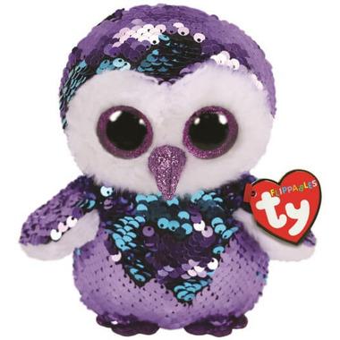 Ty Flippables Moonlight The Sequin Owl Medium