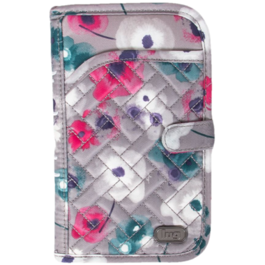 Lug Tandem Travel Wallet Water Pearl