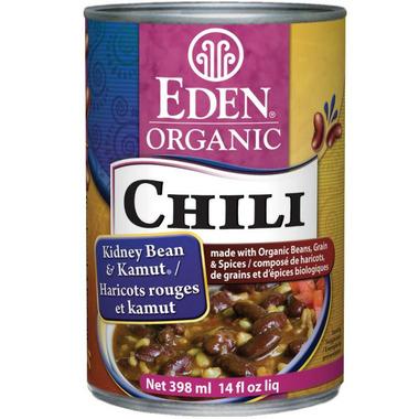 Eden Organic Chili Kidney Beans & Kamut