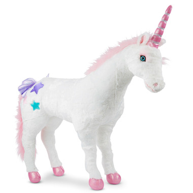 Melissa & Doug Unicorn Giant Stuffed Animal
