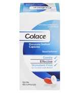 Colace Stool Softener Docusate Sodium 100 mg