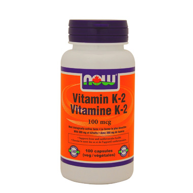 NOW Foods Vitamin K2 100 mcg