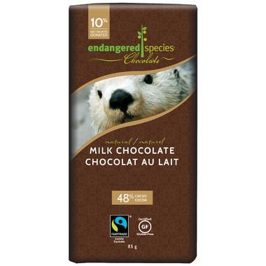 Endangered Species Natural Milk Chocolate Bar