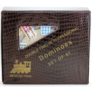 Mexican Train Dominoes Set