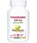 New Roots Herbal N-AcetylCysteine 600mg