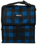 PackIt Freezable Lunch Bag Navy Buffalo