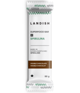 Landish Superfood Bar + Spirulina Double Chocolate
