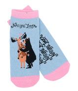 Little Blue House Women's Ankle Socks Nature Lover