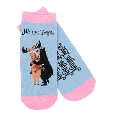 Little Blue House Women\'s Ankle Socks Nature Lover