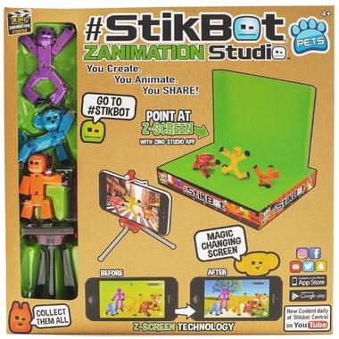 Stikbot Pets Zanimation Studio Start-Up Set
