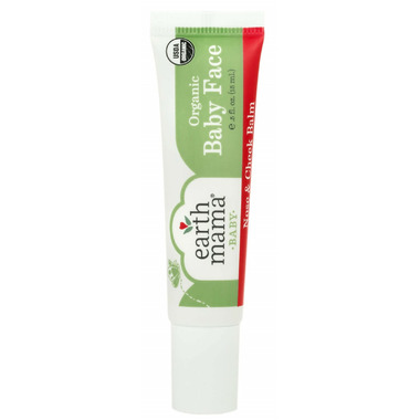Earth Mama Organics Baby Face Nose and Cheek Balm Travel Size