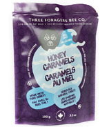 Caramels au miel de Three Foragers Bee Co. sel de mer
