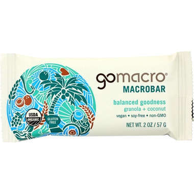 GoMacro MacroBar Granola + Coconut
