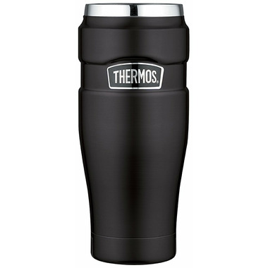 Thermos Stainless Steel Travel Tumbler Matte Black