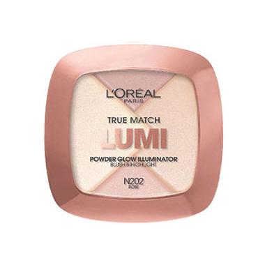 L\'Oreal Paris True Match Lumi Powder Glow Illuminator in Rose