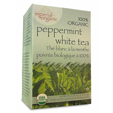 Uncle Lee\'s Imperial Organic Peppermint White Tea