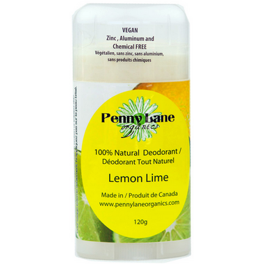 Penny Lane Organics Natural Deodorant Lemon-Lime