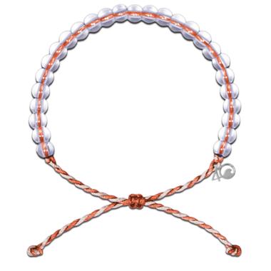 4Ocean July 2019 Whale Shark Bracelet Orange Tan