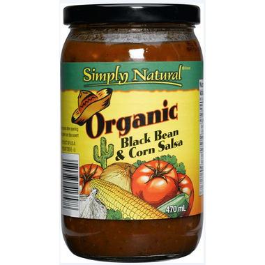 Simply Natural Organic Black Bean & Corn Salsa