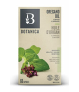 Botanica Oregano Oil Liquid Phytocaps