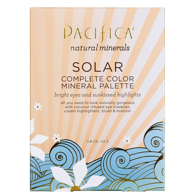 Pacifica Natural Minerals Solar Complete Color Mineral Palette