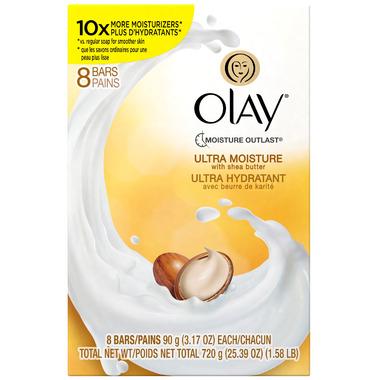 Olay Ultra Moisture Beauty Bar With Shea Butter