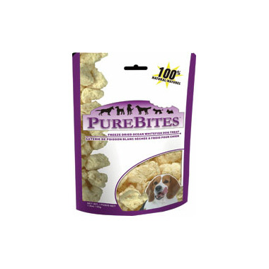 PureBites Freeze Dried Ocean Whitefish Dog Treats