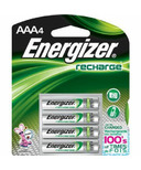 Energizer Recharge Universal Batteries AAA
