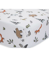 Little Unicorn Cotton Muslin Crib Sheet Forest Friends
