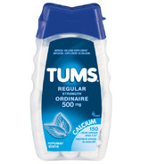 Tums Regular Strength Antacid Calcium Tablets