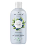 ATTITUDE Super Leaves Bubble Bath Unscented Blueberry Leaves