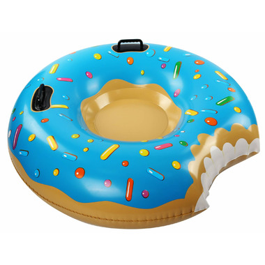 Incredible Novelties Blue Donut Snow Tube with Bite