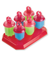 Tovolo Jewel Popsicle Molds Pink