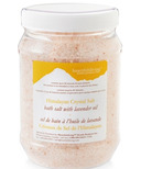 Heartfelt Living Himalayan Crystal Bath Salts Lavender