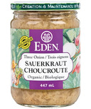 Eden Organic Three Onion Sauerkraut