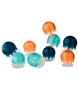 Boon Jellies Suction Cup Bath Toy Navy Set