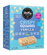 Healthy Crunch Rice Crispy Squares Vanilla