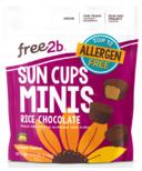 Free2b Sun Cups Minis Rice Chocolate