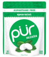 PUR Spearmint Mints