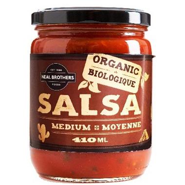Neal Brothers Organic Medium Salsa