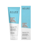 Acure Clear Charcoal Facial Scrub