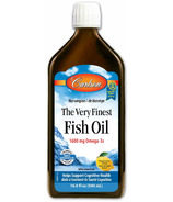 Carlson The Very Finest Fish Oil Lemon Large
