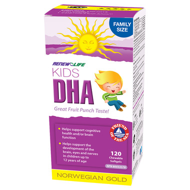 Renew Life Norwegian Gold Kids DHA